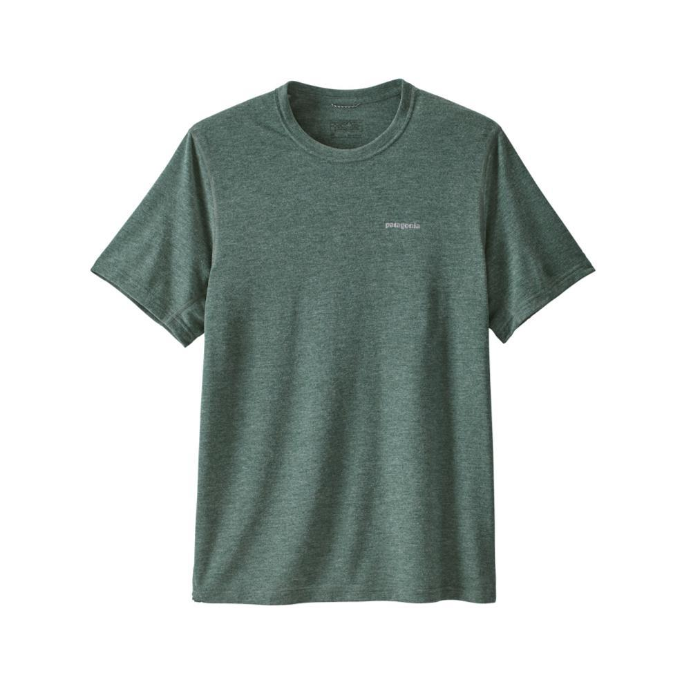Patagonia Men's Short-Sleeved Nine Trails Shirt MICG_GREEN
