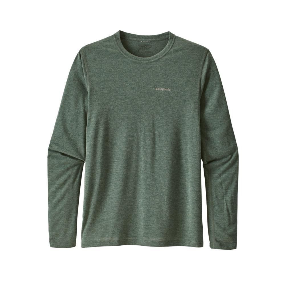 Patagonia Men's Long-Sleeved Nine Trails Shirt MICG_GREEN