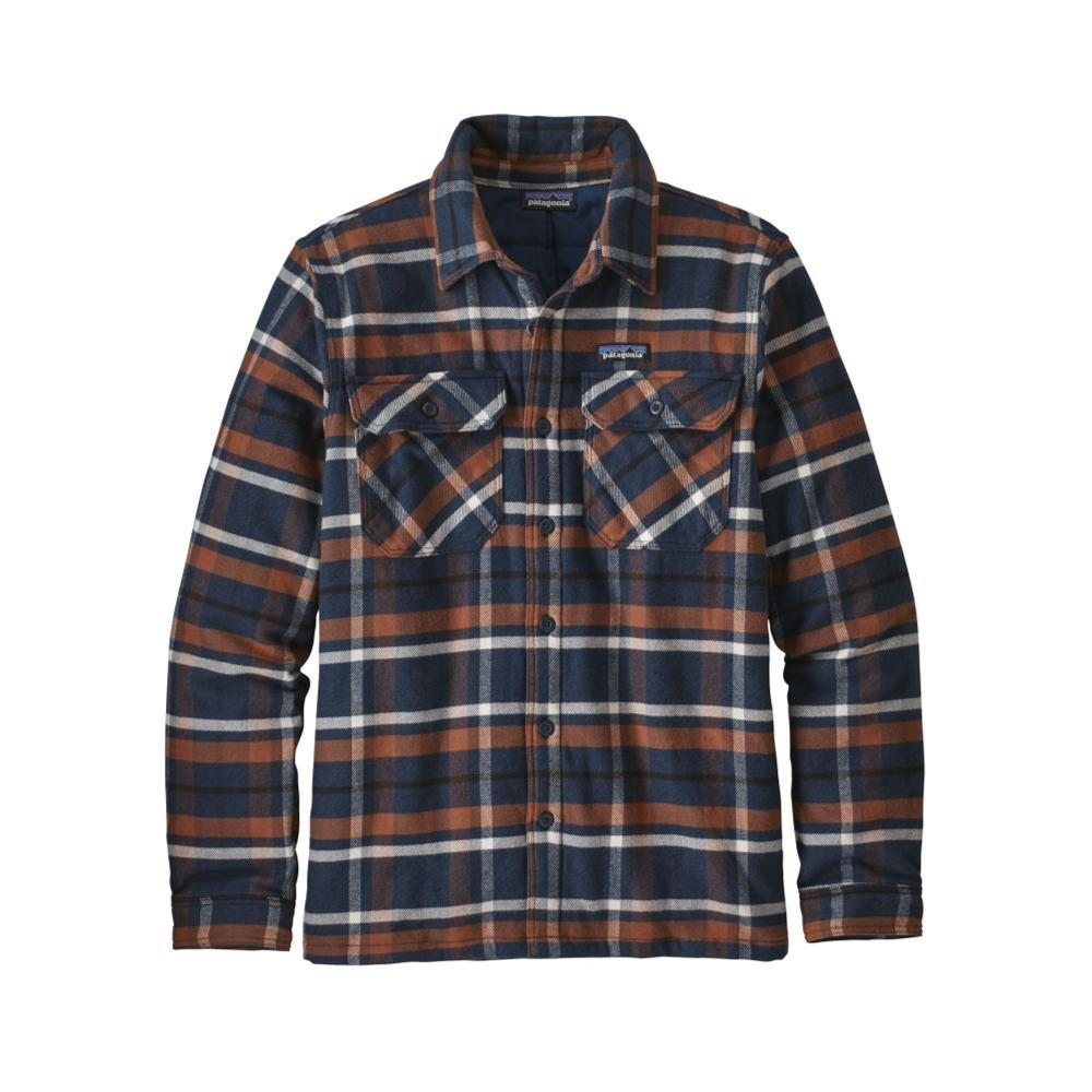 Patagonia Men's Insulated Fjord Flannel Jacket TPNA_BLUE