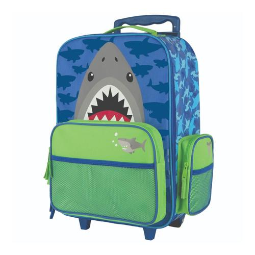Stephen Joseph Kids Classic Rolling Luggage Shark80