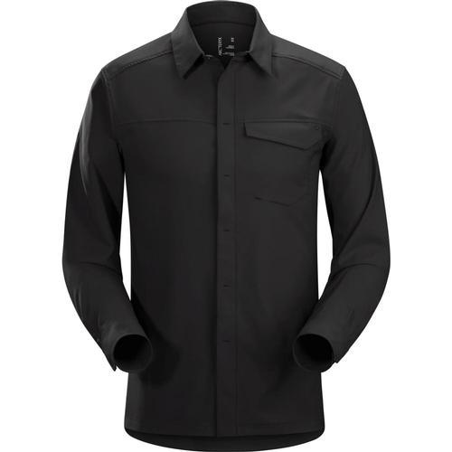 Arc'teryx Men's Skyline Long Sleeve Shirt Black