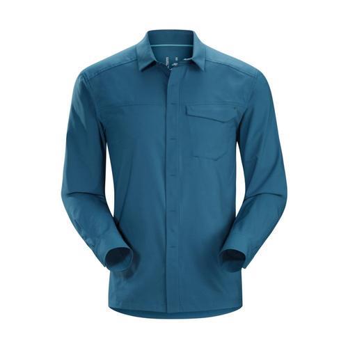 Arc'teryx Men's Skyline Long Sleeve Shirt Hecateblue