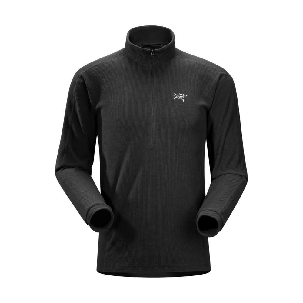 Arc'teryx Men's Delta LT Zip Pullover BLACK