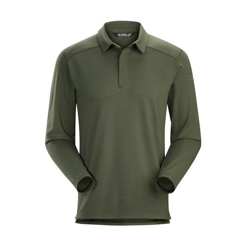 Arc'teryx Men's Captive Long Sleeve Polo Shirt Gwaii