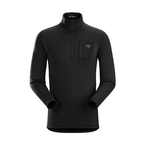 Arc'teryx Men's Rho AR Zip Neck Pullover Black