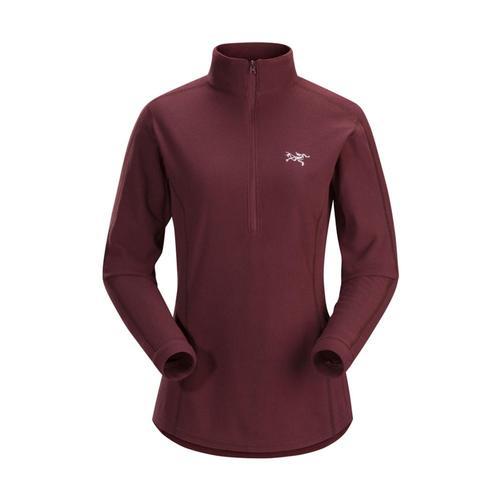 Arc'teryx Women's Delta LT Zip Pullover Crimson