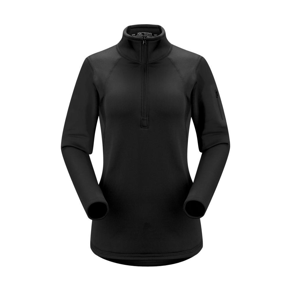 Arc'teryx Women's Rho AR Zip Neck Pullover BLACK