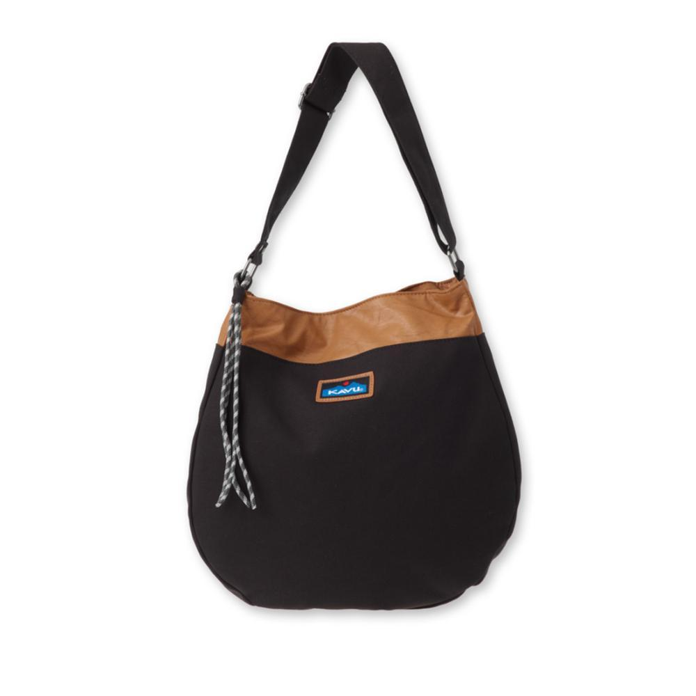 KAVU Vashon Shoulder Purse BLACK