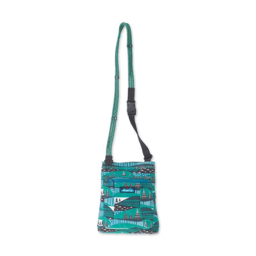 KAVU Keepalong Shoulder Bag WINTERSCAPE