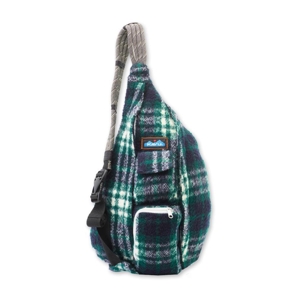 KAVU Plaid Rope Bag NORTHWEST