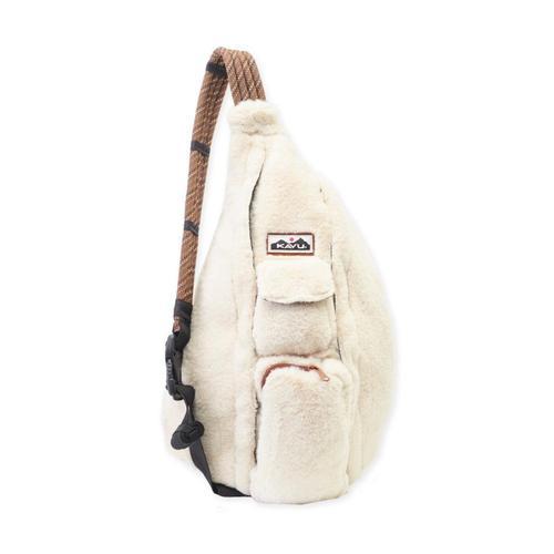 KAVU Rope Fuzz Bag Natural
