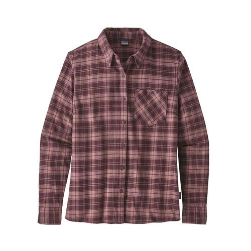 Patagonia Women's Heywood Flannel Shirt Hedc_dkc