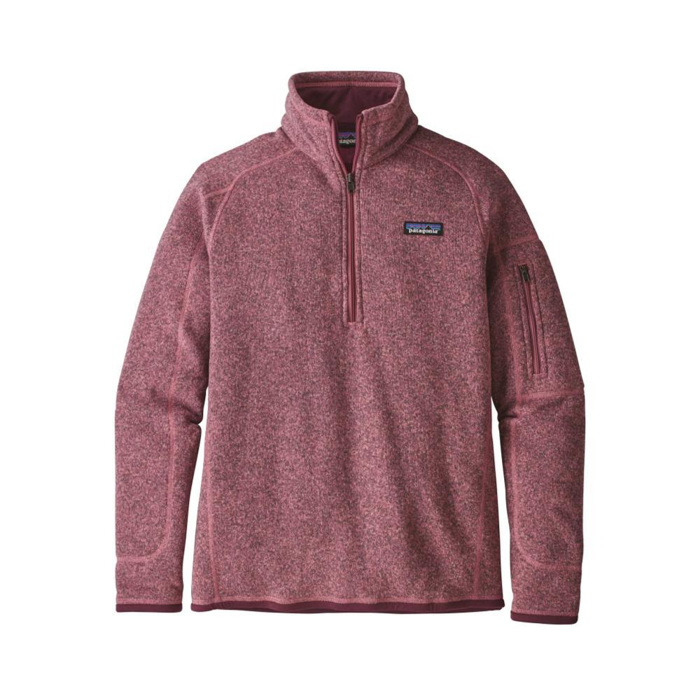 Patagonia Women's Better Sweater 1/4-Zip KIPI_PINK