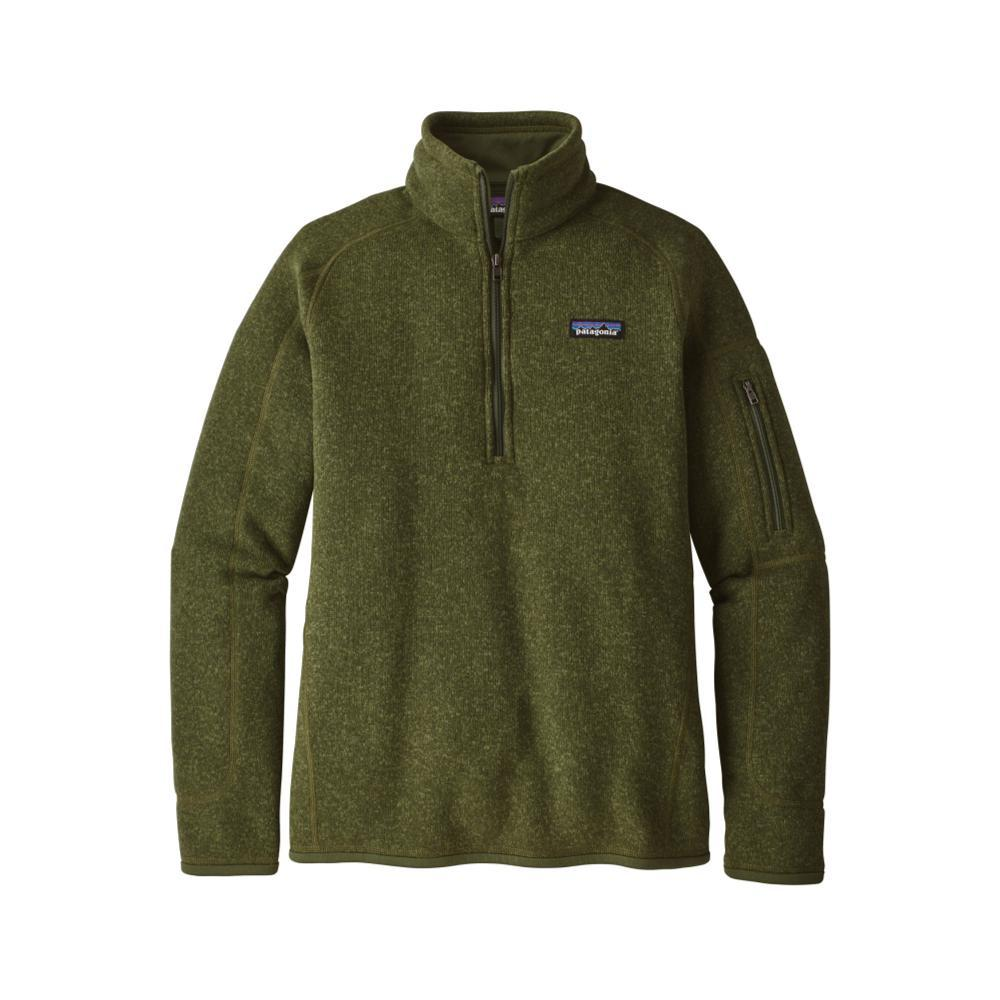 Patagonia Women's Better Sweater 1/4-Zip NOMG_GREEN