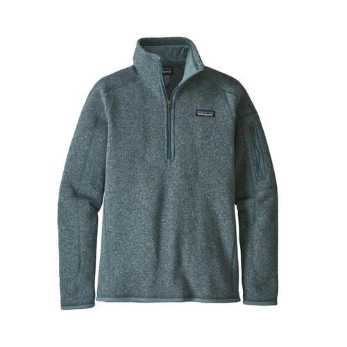 Patagonia Women's Better Sweater 1/4-Zip Sdab_blue