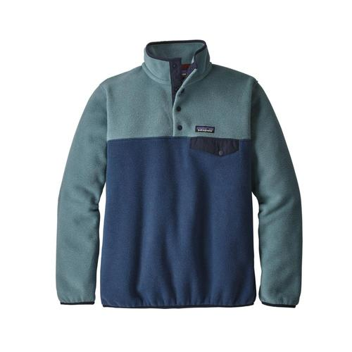 Patagonia Women's Lightweight Synchilla Snap-T Pullover Snbl_blue