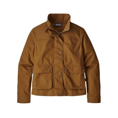 Patagonia Women's Prairie Dusk Jacket Benb_brown