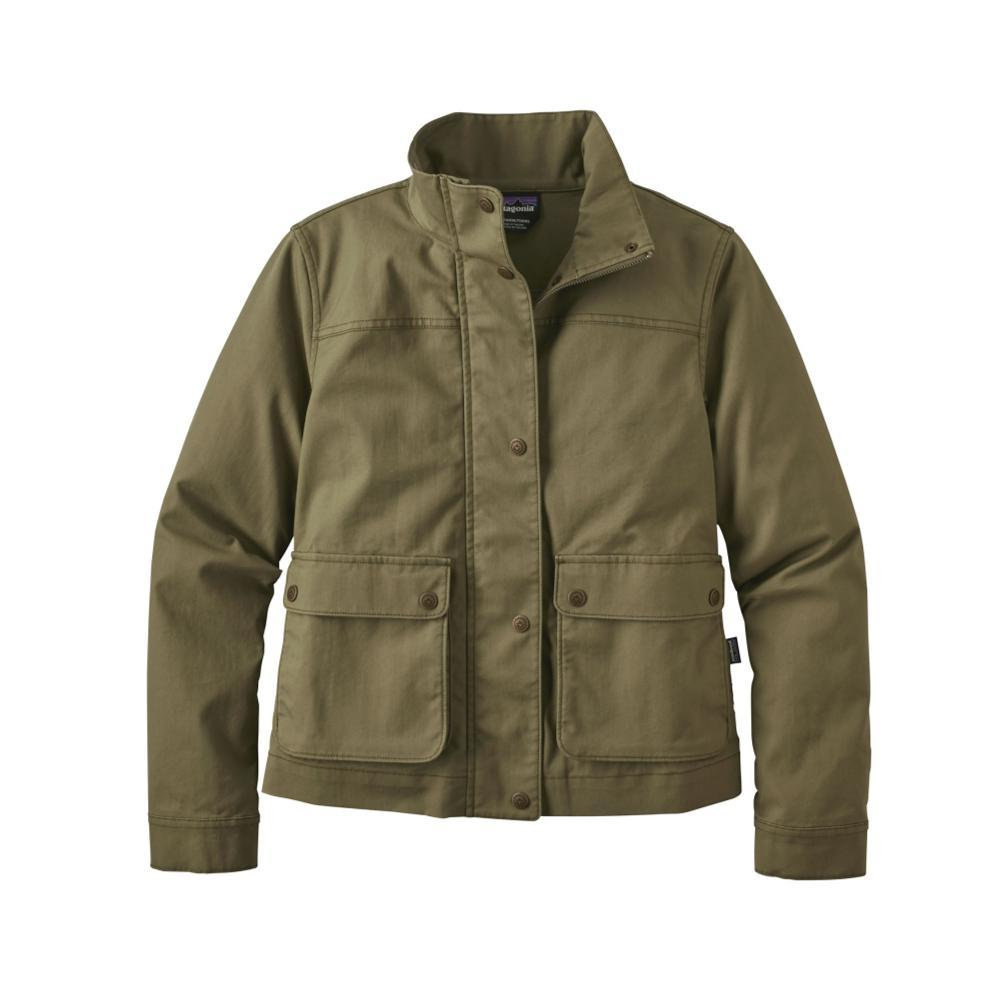 Patagonia Women's Prairie Dusk Jacket FTGN_GREEN