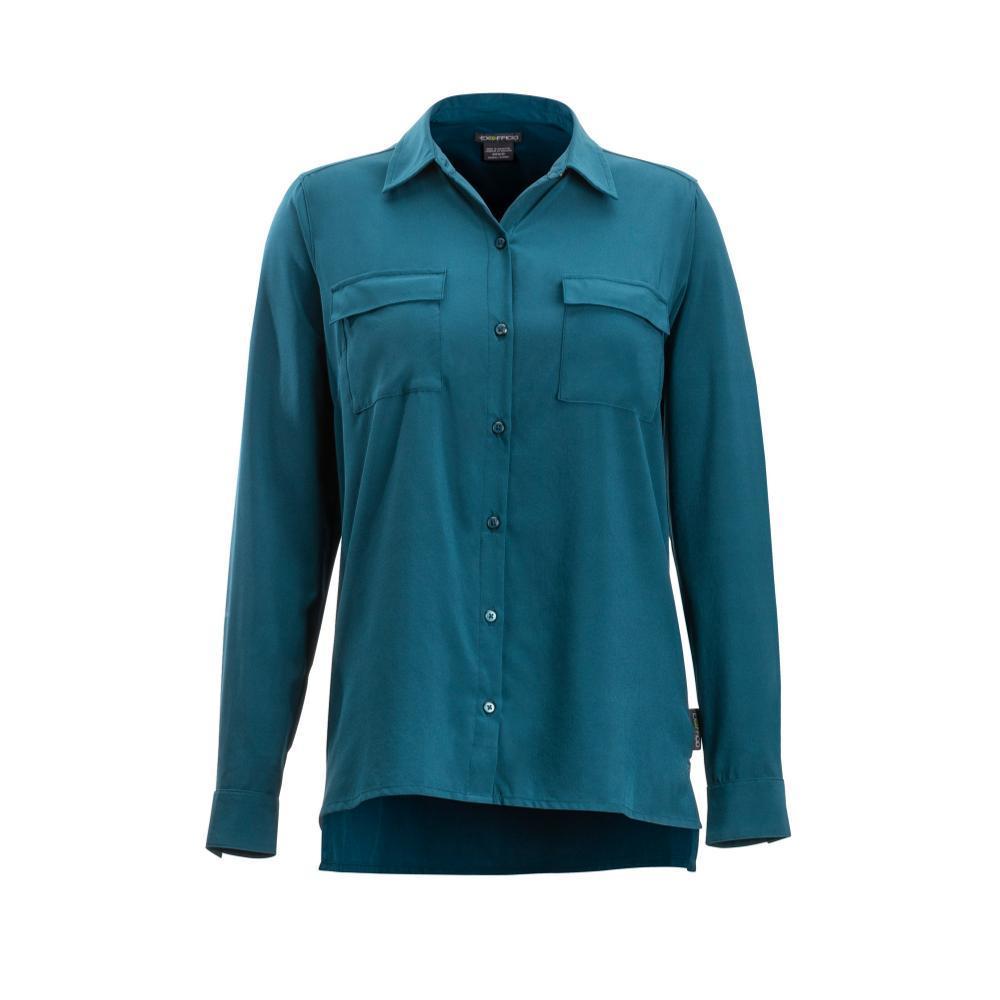 ExOfficio Women's Kizmet Long Sleeve Shirt ADRIATIC