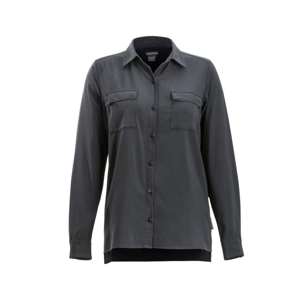 ExOfficio Women's Kizmet Long Sleeve Shirt BLACK
