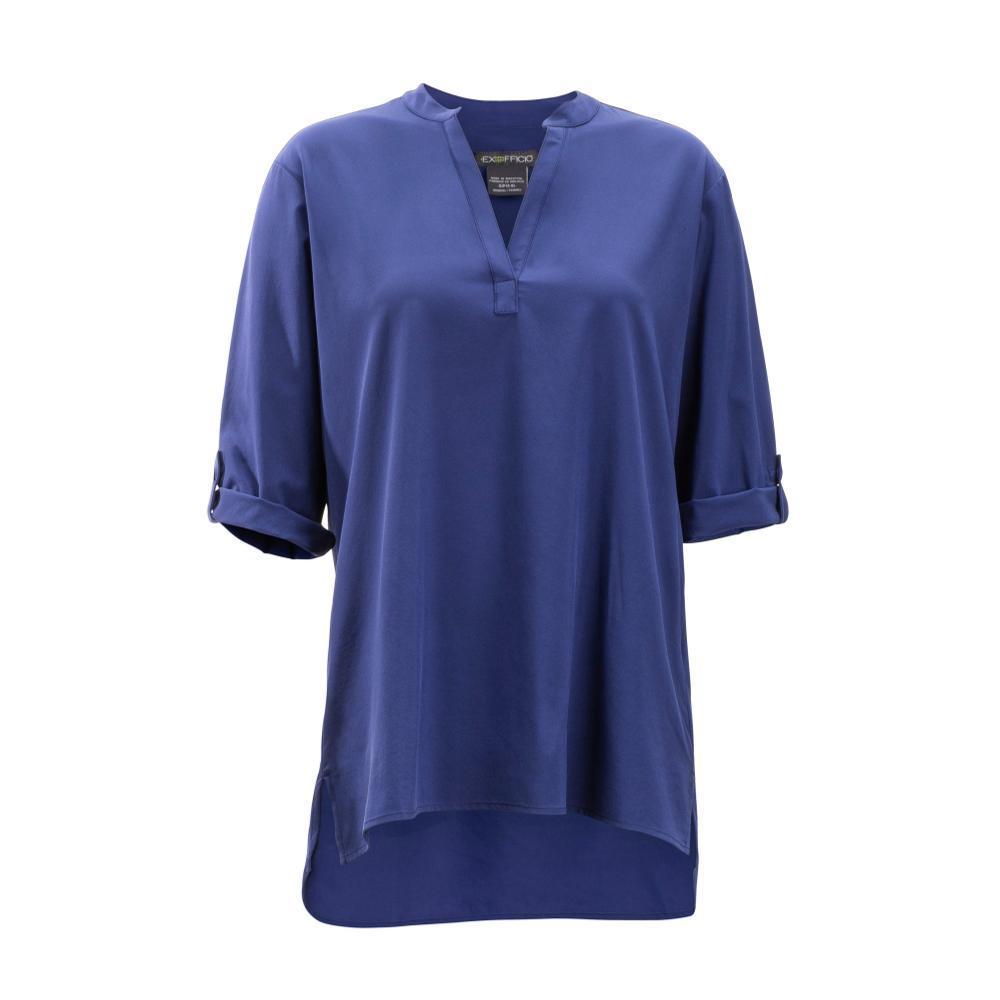 ExOfficio Women's Kizmet 3/4 Sleeve Shirt COMMODORE