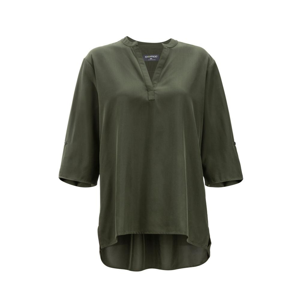 ExOfficio Women's Kizmet 3/4 Sleeve Shirt NORI