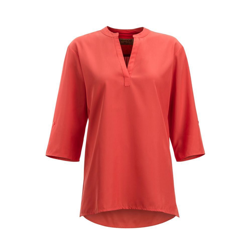 ExOfficio Women's Kizmet 3/4 Sleeve Shirt SPICECORAL