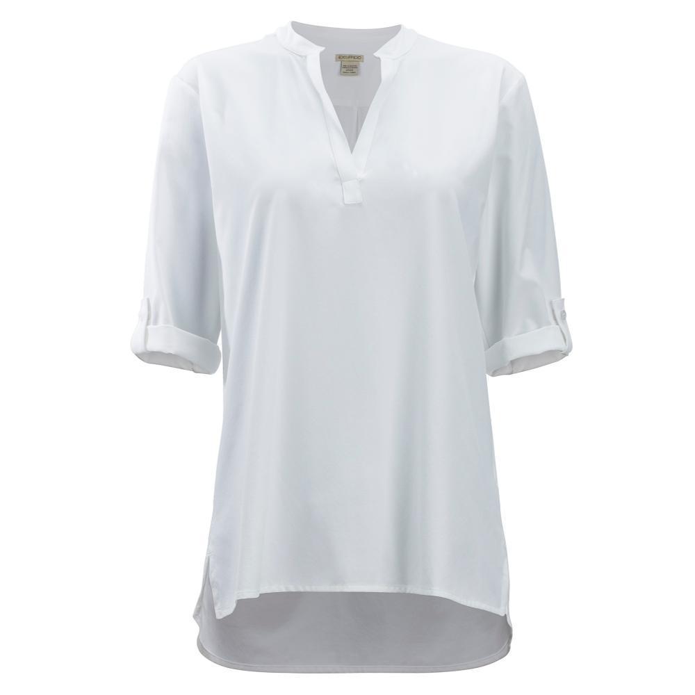 ExOfficio Women's Kizmet 3/4 Sleeve Shirt WHITE