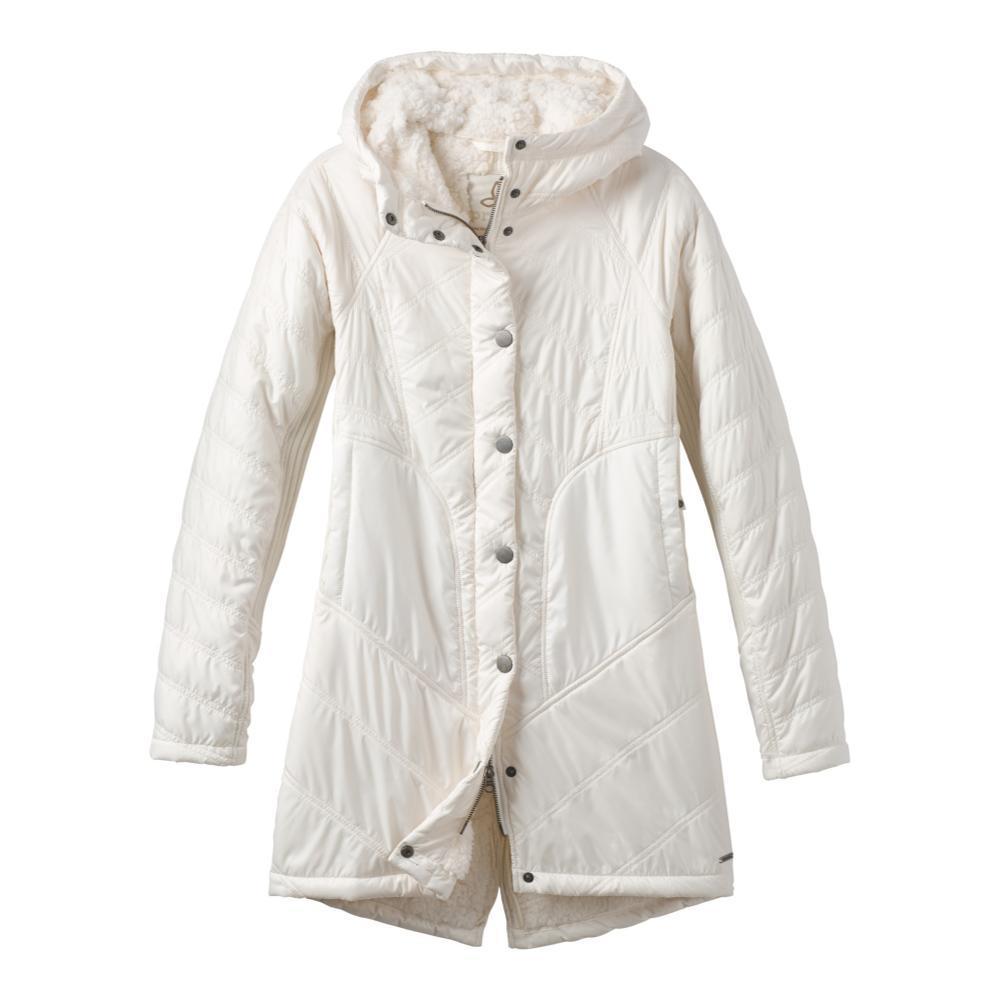 prAna Women's Diva Long Jacket BONE