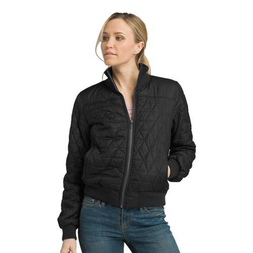 prAna Women's Diva Bomber Jacket Black