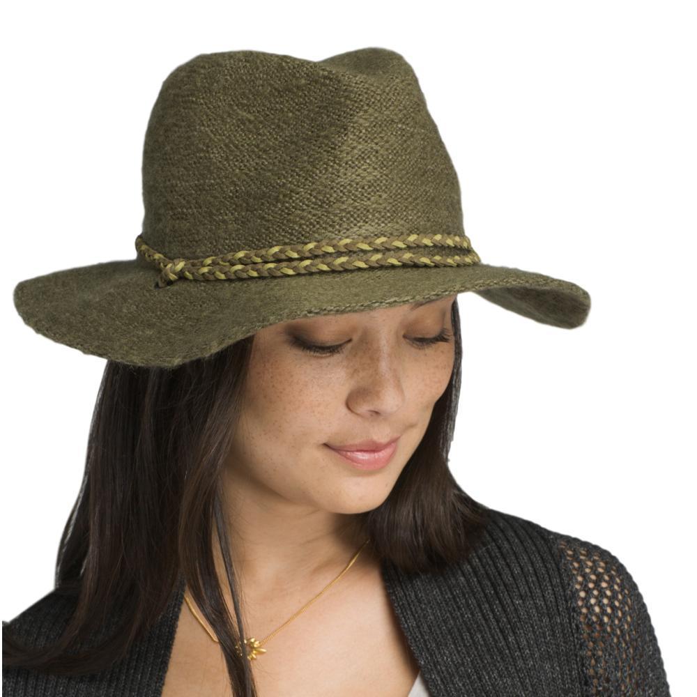 prAna Women's Tempo Travel Hat CARGOGREEN