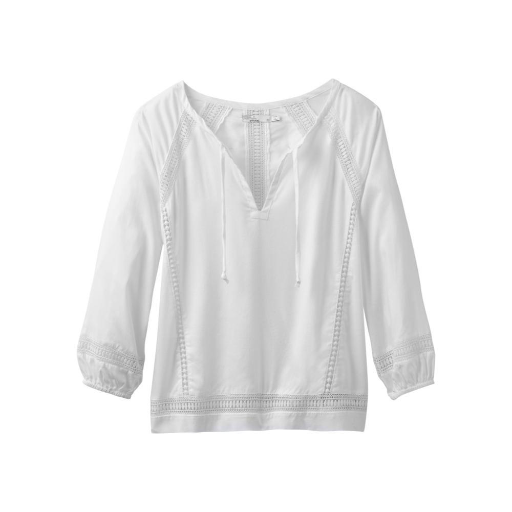 prAna Women's Tacana Top WHITE