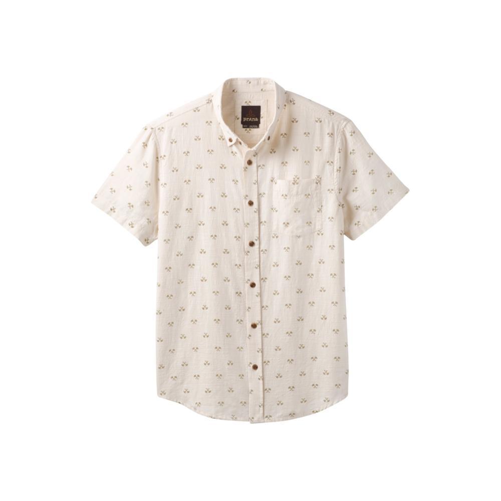 prAna Men's Broderick Short Sleeve Shirt STNPALMTREE
