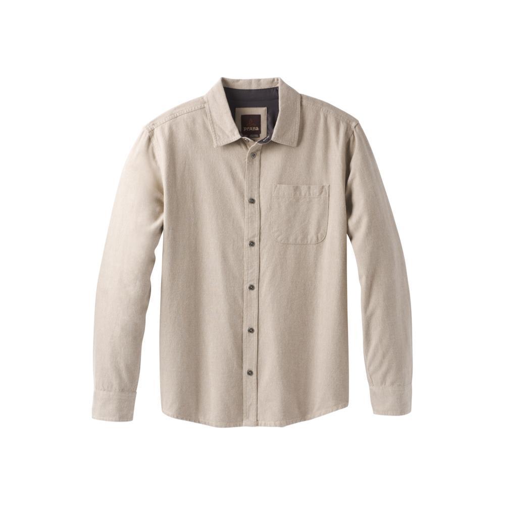prAna Men's Woodman Long Sleeve Flannel DARKKHAKI
