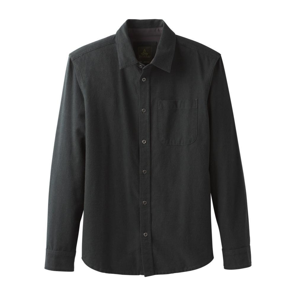 prAna Men's Woodman Long Sleeve Flannel VELVETGRN