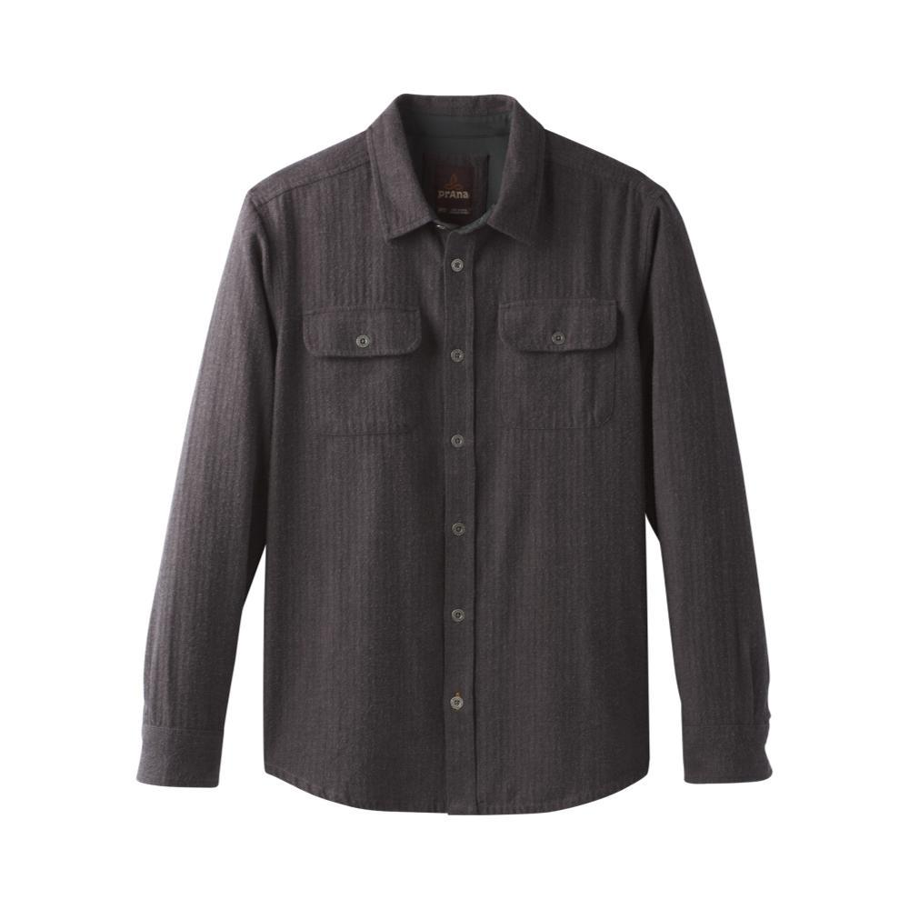 prAna Men's Lybek Long Sleeve Flannel BROWN