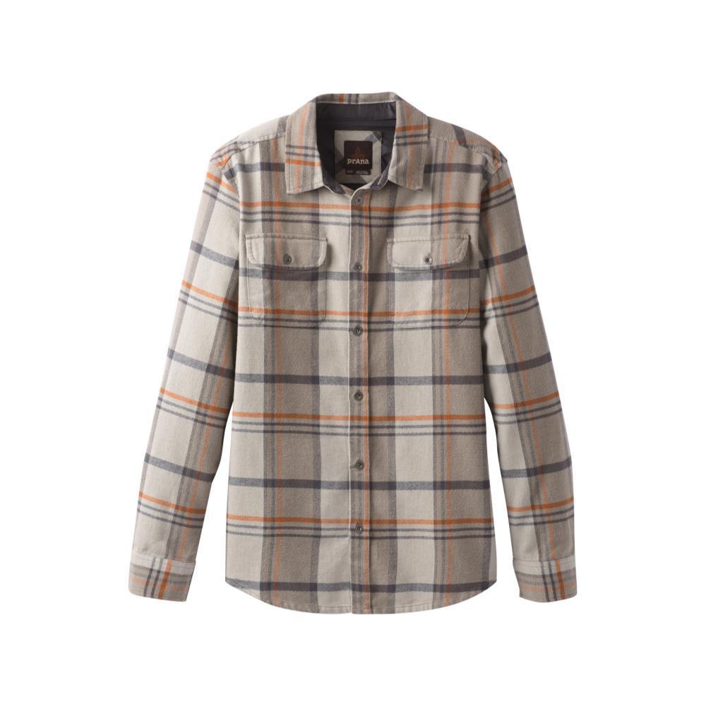 prAna Men's Lybek Long Sleeve Flannel MUDPLAID