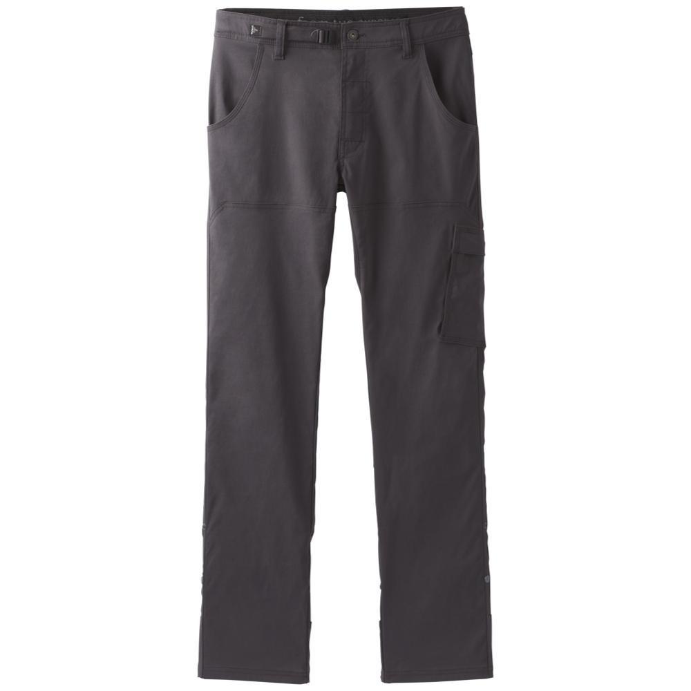 prAna Men's Stretch Zion Strait Pants - 32in Inseam CHARCOAL
