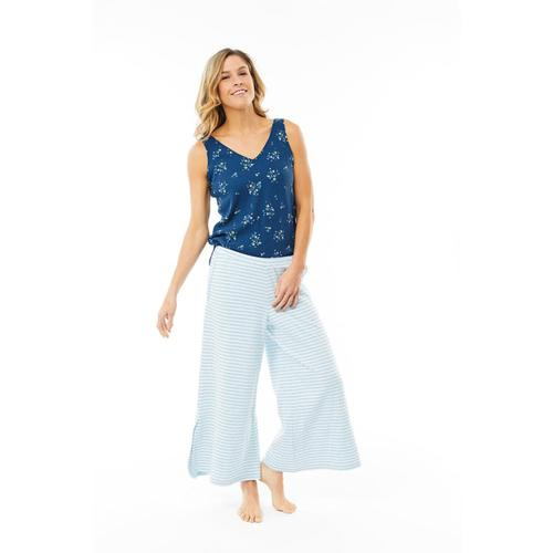 Carve Designs Women's Insley Loose Cropped Pants Sky