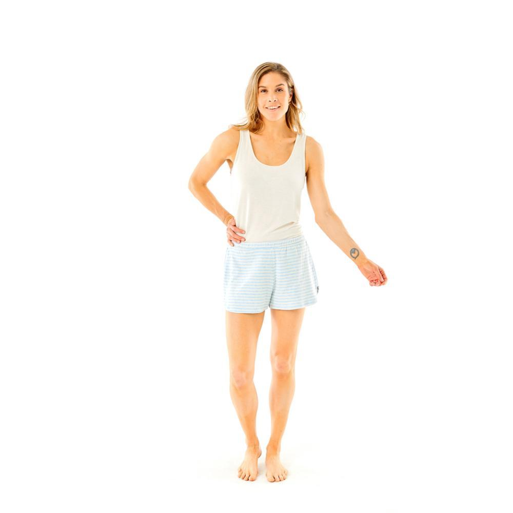Carve Designs Women's Insley Boxer Shorts SKY