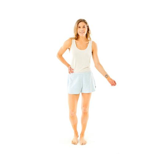 Carve Designs Women's Insley Boxer Shorts Sky