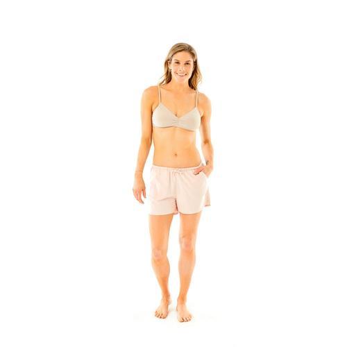 Carve Designs Women's Ellis Boxer Shorts Opal