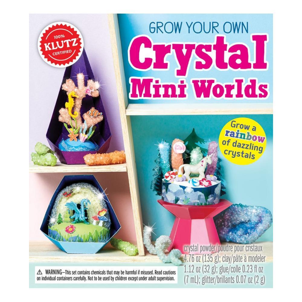 Klutz Grow Your Own Crystal Mini Worlds Activity Kit