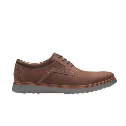 Clarks Men's Un Geo Lace Shoes Dkbrnnbk