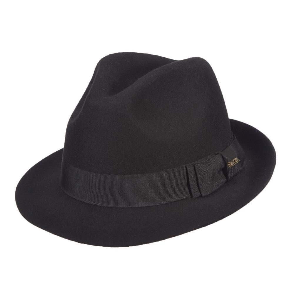Dorfman- Pacific Co.Men ' S Fedora Wool Felt Hat