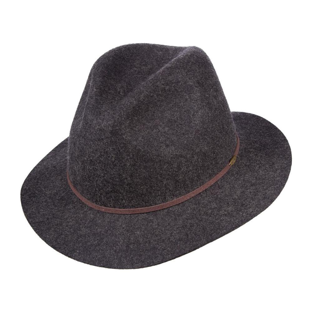 Dorfman-Pacific Co.Men's Safari Wool Felt Hat CHARCOAL