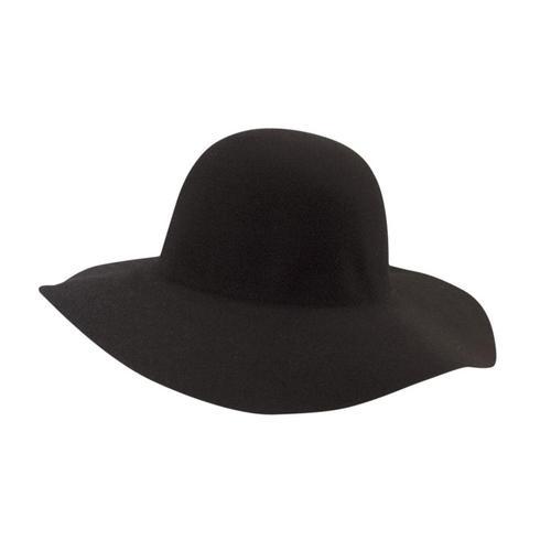 c47d23615cf Women s Floppy Felt Wool Hat Black