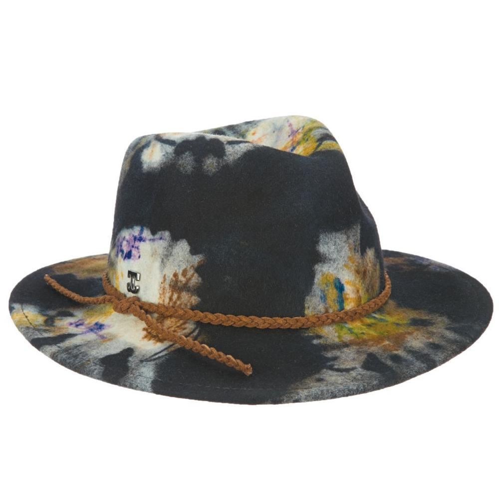 Dorfman-Pacific Co. Women's Tie Dye Safari Hat. NAVY