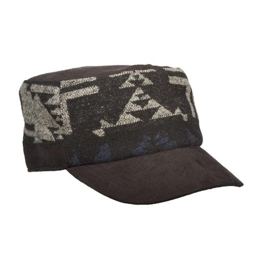 Dorfman-Pacific Co. Cadet Wool Blend Hat Black