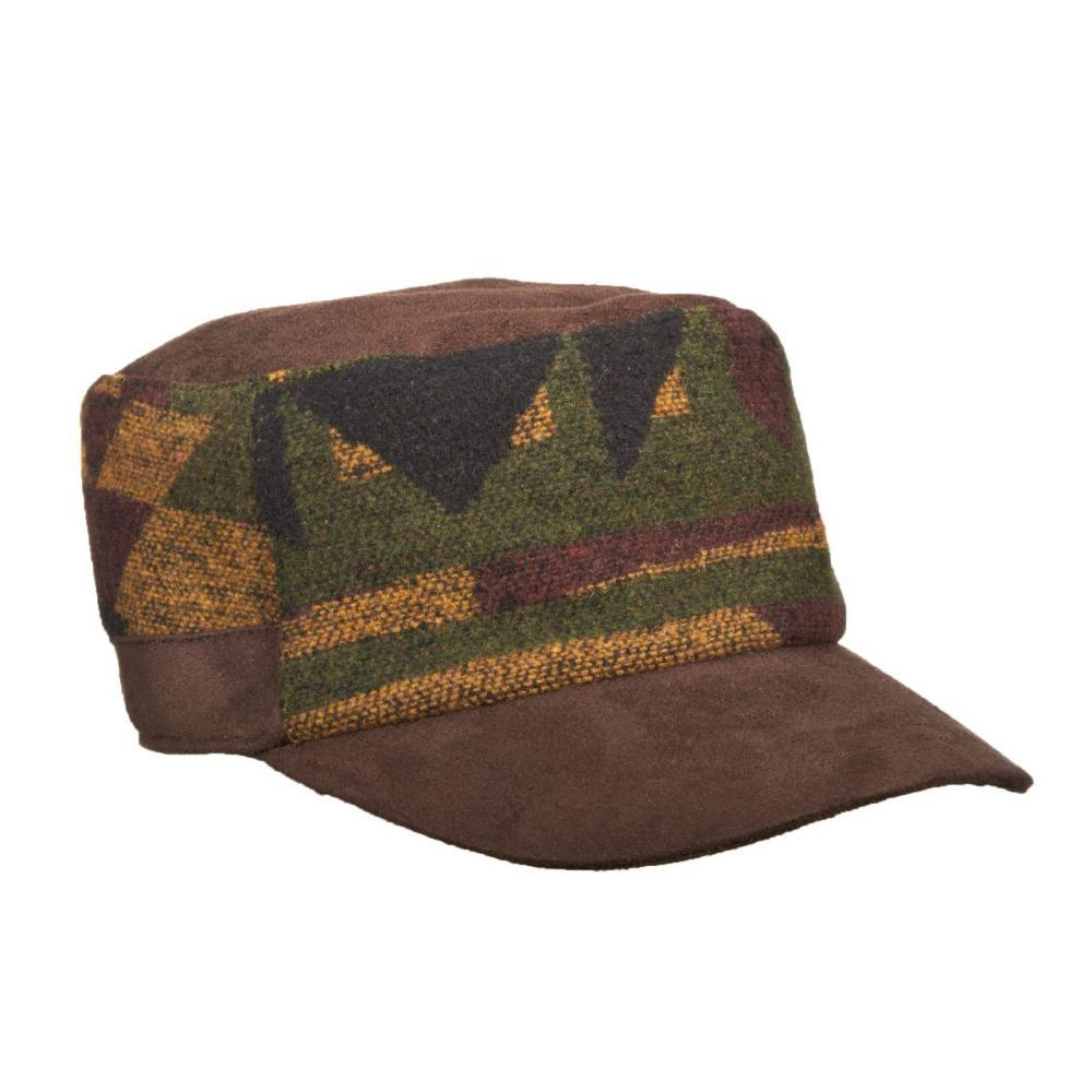 Dorfman- Pacific Co.Cadet Wool Blend Hat